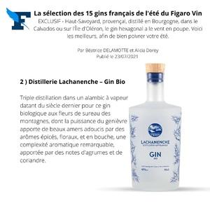 Merci @lefigarovin pour cette sélection et pour ce classement à la deuxième place !!  #gin #ginbio #distillerie #frenchalps #purealpes #artisanat #distillerieartisanale #lachanenche #ginfrancais #gintonic
